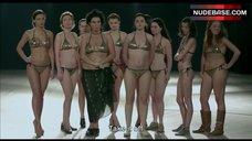 3. Shorena Begashvili Sexy in Golden Bikini – Keep Smiling