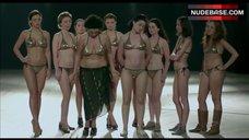 4. Shorena Begashvili Sexy in Golden Bikini – Keep Smiling