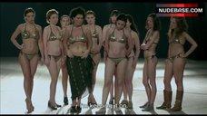 5. Shorena Begashvili Sexy in Golden Bikini – Keep Smiling