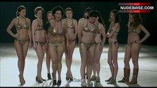 8. Shorena Begashvili Sexy in Golden Bikini – Keep Smiling