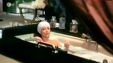 Stephane Audran Nude in Hot Tub – Folies Bourgeoises