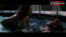 Neve Campbell Cat Fight in Pool – Wild Things