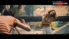 Larissa Breidbach Shows Tits – Egon Schiele: Death And The Maiden
