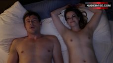 Emily Hampshire Small Nude Tits – All The Wrong Reasons