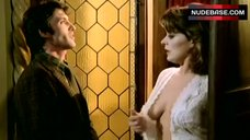 Bernice Stegers Flashes Breasts – Macabre