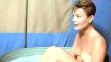 Lucy Gutteridge Boobs Scene – Tusks