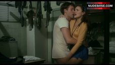 2. Kim Cattrall Hot Sex in Pantry – Porky'S