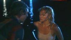 Kim Cattrall Nipples Through Wet Top – Midnight Crossing
