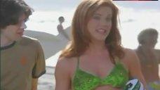 Elisa Donovan in Green Bikini – Sabrina, The Teenage Witch