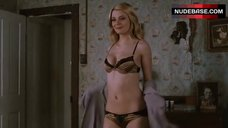 Mischa Barton Shows Sexy Lingerie – Homecoming