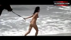 Anouk Aimee Naked on Beach – Justine