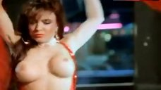 Toni Alessandrini Bare Tits during Striptease – Vice Academy 2
