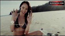 7. Lindsey Mckeon Bikini Scene – Indigenous