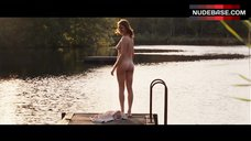 Marie-Josee Croze Dives Nude into Lake – Tell No One