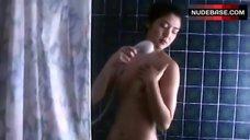 Miho Nomoto Full Naked in Shower – The Peeping Tom