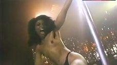 Alretha Baker Topless Pole Dance – Dance With Death