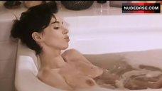 Beatrice Dalle Nude in Bath Tub – A La Folie