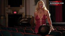 Rachael Robbins in Sexy Red Bodysuit – Bleeding Hearts