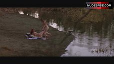 2. Ruby Larocca Nude on Beach – The Lost