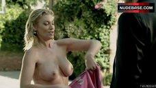 Donna W. Scott Nude Swimming in Pool – Femme Fatales