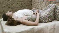 1. Ana Risueno Bare Breasts and Hairy Bush – Bajo La Piel