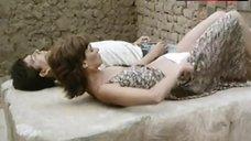 3. Ana Risueno Bare Breasts and Hairy Bush – Bajo La Piel