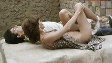 Ana Risueno Bare Breasts and Hairy Bush – Bajo La Piel