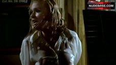 Melanie Kinnaman Nipples Through Wet Shirt – Friday The 13Th Part V
