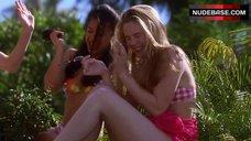 10. Stacey Dash in White Bikini – Clueless