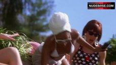 2. Stacey Dash in White Bikini – Clueless