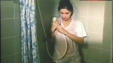 5. Sunshine Cruz Tits Shine Through Wet T-Shirt – Magagandang Hayop