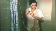 7. Sunshine Cruz Tits Shine Through Wet T-Shirt – Magagandang Hayop