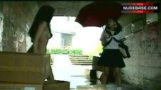 2. Kei Mizutani Naked Boobs and Butt – Terminatrix