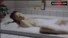 Kei Mizutani Masturbating in Hot Tub – A Weather Woman