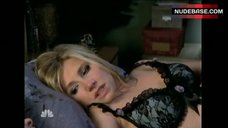 Sarah Chalke in Black Bra  – Scrubs
