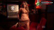 Sarah Chalke Shows Hot Lingerie – Scrubs