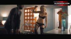 Sarah Chalke Sexy in Bra, Panties and Stockings – Chaos Theory