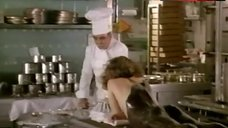 8. Angela Finocchiaro Pours Chocolate on Naked Ass – Volere Volare