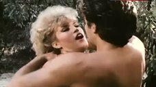 3. Amber Lynn Flashes Breasts – Evils Of The Night
