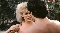 6. Amber Lynn Flashes Breasts – Evils Of The Night