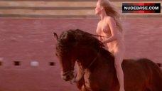 Bo Derek Nude Riding Horse – Bolero