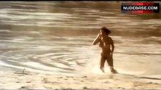 Paola Senatore Full Nude on Beach – Fury
