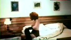 2. Paola Senatore Bare Boobs and Bush – Affair