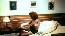 4. Paola Senatore Bare Boobs and Bush – Affair