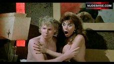 Ava Cadell Flashes Breasts – Commando