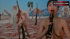 Amanda Donohoe Topless Scene – The Lair Of The White Worm