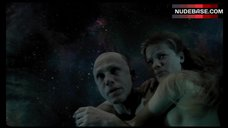 Melanie Thierry Nude Floating in Space – The Zero Theorem