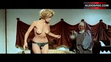 Karin Schubert Topless in Panties – Ubalda, All Naked And Warm