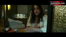 Michelle Rodriguez Flashes Tits – The Assignment