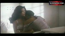 Chingmy Yau in White Lingerie – Naked Killer